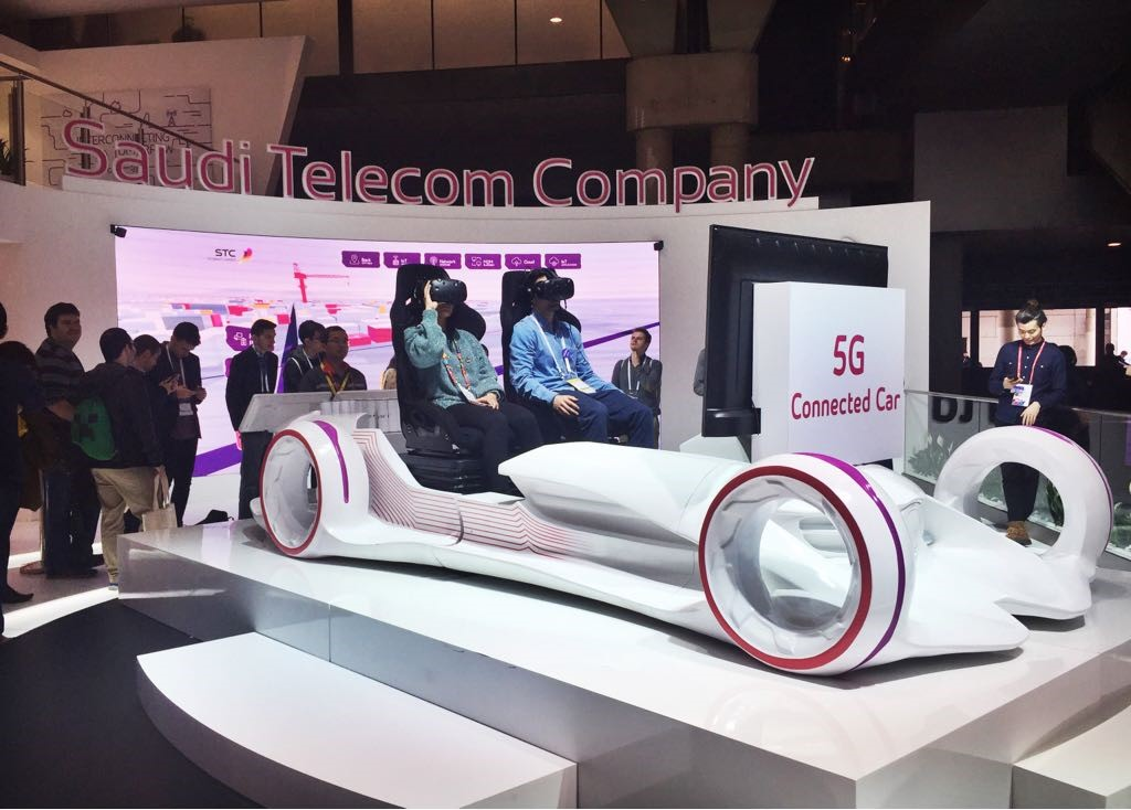 5g connected car