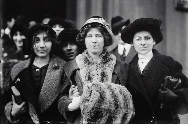 Mujeres protagonistas de la historia